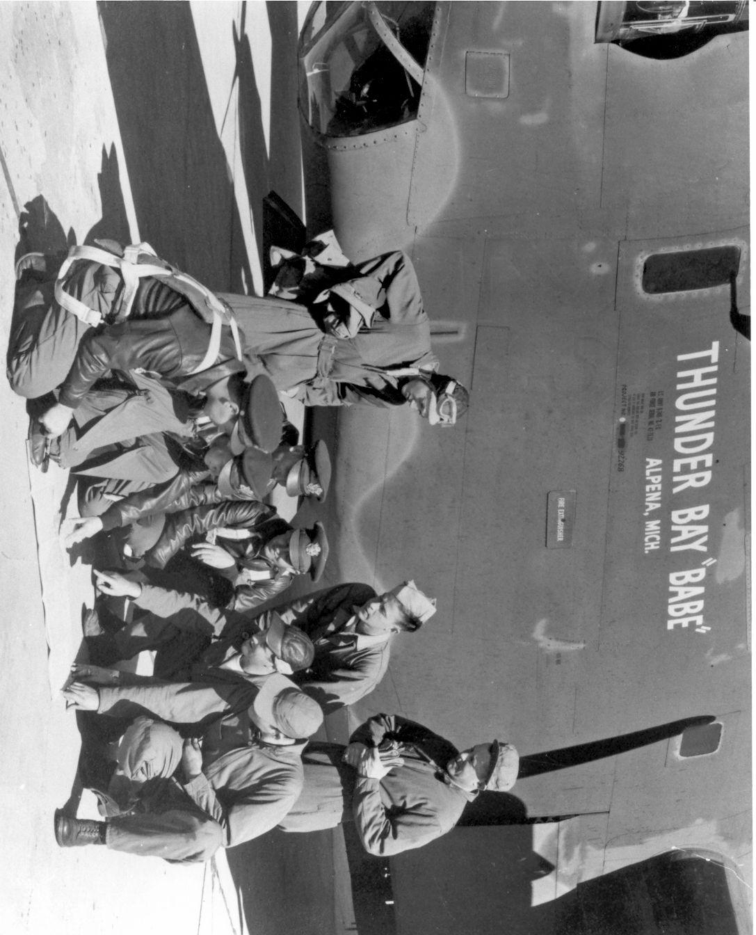 ThunderBayBabeWithRidgeway'sCrew-449thBG-1944
