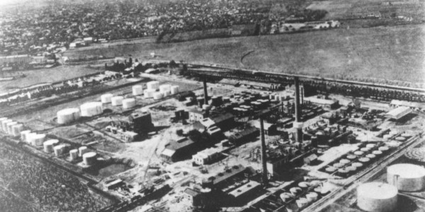 Concordia-Vega Refinery at end of war