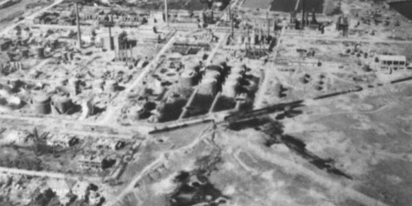 Concordia-Vega Refinery before 9 July strike by 449th BG