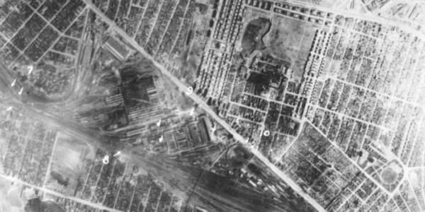 Post-Strike Photo after 4 April 1944 mission