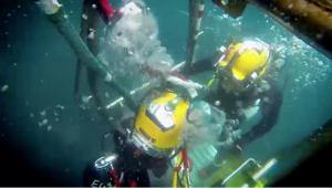 Underwater Recovery Hanson Crew Site