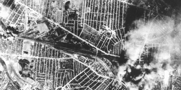 Strike Photo: 4 April 1944